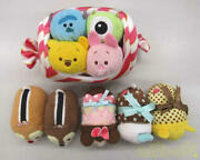 Disney Tsum Plush Toy Candy Costumes And 10 Pieces Set
