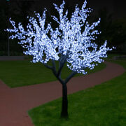 5ft Christmas Led Cherry Blossom Tree With Lights Outdoor Garden Flexible Party