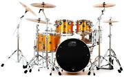 Dw Performance Series 5-piece Shell Pack With 22 Bass Drum - Gold Sparkle
