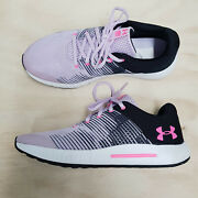 Under Armour Youth Girls Size Eur 38.5 / Us 6y / Uk 5.5 Pursuit Sneakers Shoes