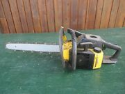Vintage Mcculloch Pro Mac 610 Chainsaw Chain Saw With 18 Bar
