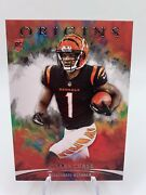 2021 Panini Origins Jaand039marr Chase Rc Rookie 112 Base Variation Bengals
