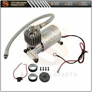 For Van Train Car Truck Boat Air Horn150psi Air Compressor With 30a Fuse Kit
