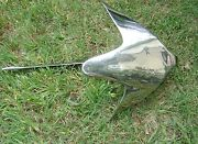 S.s. Stainless Steel Claw Boat Anchor 20kg 44 Lb