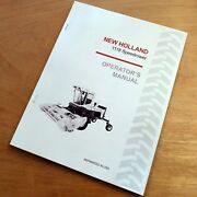 New Holland 1118 Speedrower Swather Operatorand039s Owners Book Guide Manual Nh