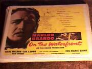 On The Waterfront Rolled 22x28 Poster And03954 Marlon Brando