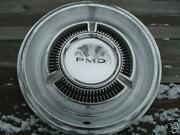 One Vintage Classic 1969 69 1970 70 Pontiac Pmd Hubcaps Wheel Covers Center Caps