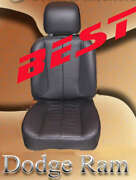 Real Leather Interior/seat Covers For 1994-22 Dodge Ram