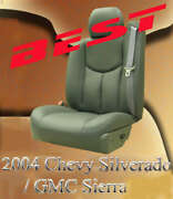 Custom Leather Upgrade Kit/ Seat Covers For 1999-2022 Silverado/sierra