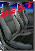 Real Leather Interior Upholstery /seat Covers Kit For 2000-21 Honda Insight