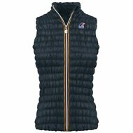 K-WAY ZOE WARM TECH STRETCH Ripstop Gilet DONNA Arricciato Imbot KWAY News K89fn
