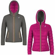 GIACCA DONNA K-WAY LILY THERMO PLUS DOUBLE imbottita PIUMA AUT/INV KWAY 995excts