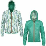 K-WAY LILY PLUS DOUBLE GRAPHIC giacca BAMBINA KWAY reverse CAPPUCCIO Prv/Est 921
