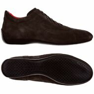 SABELT UNISEX 103U SUEDE DRIVING RACING SCAMOSCIATE MARRONE Moro New Nuovo 902zw