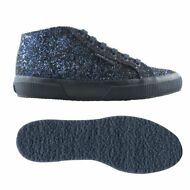 SUPERGA DONNA 2754 alt.media scarpe Aut/Inv glitter Blu chic New Moda News 913mc