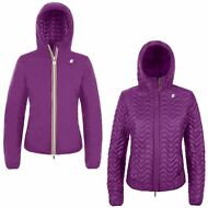 K-WAY EDEN LIGHT THERMO DOUBLE Imbottito giacca reverse DONNA leggera KWAY X43tx