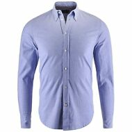 ROBE DI KAPPA HUTT Button DOWN camicie uomo aut/inv busy BIANCO blu ROYAL 900lvw