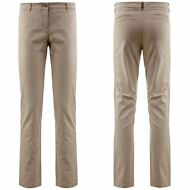 K-WAY PANTALONE DONNA chino CLARISSE STRETCH misto cotone PRV/EST NEW KWAY B92nc