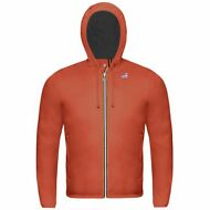 K-WAY giacca IMPERMEABILE UOMO KWAY CAPPUCCIO JACQUES NYLON JERSEY Prv/Est XC1yg