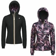 K-WAY LILY DOUBLE GRAPHIC GIUBBOTTO reverse giacca DONNA KWAY WARM Negozio 912uk