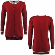 ROBE DI KAPPA CARDIGAN DONNA ISABEAU misto lana Aut/Inv Cloudy ROSSO Pepper 901k