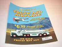 HESS 2012 MINIATURE TRUCK AND AIRPLANE REGULAR VERTICAL POSTER 18