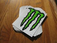 (73) Monster Stickers Metal Sign 6