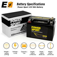 ExpertBattery YTX9-BS for Suzuki LTZ400 QuadSport ATV Batteries