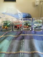 Hess Toy Truck Collector Series Glasses (4)