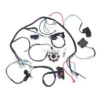 MOTORCYCLE COMPLETE ELECTRICS ATV QUAD 200/ 250CC WIRING HARNESS CDI 3 HOLES NEW