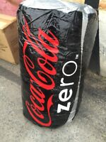 COCA COLA ZERO COKE ZERO INFLATABLE CAN BRAND NEW 38.5quot; TALL