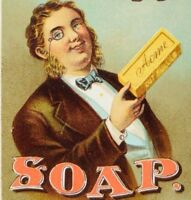 1870's-80's Mather & Co Cigars Tobacco Fancy Groceries Lautz Bros & Co Soap P67