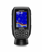 Marine GPS and Depth Finder Garmin Fishfinder Sonar Display Combo Boat Fishing