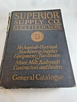 1928 Superior Supply Co. General Catalogue Bluefield West Virginia Hardware