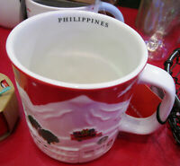 2019 STARBUCKS Philippines Holiday Christmas relief red mug limited edition