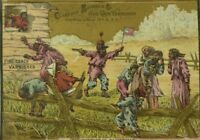 1880's Clarence Brooks & Co Fine Coach Varnishes Black Americana Trade Card P113