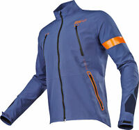 Fox Racing Mens Blue/Orange Legion Downpour Dirt Bike Jacket 2017 Enduro ATV