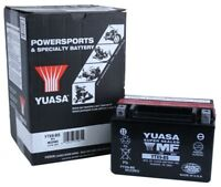 Yuasa YTX9-BS Polaris Outlaw 450 '07-'10 ATV AGM Fresh Pack 12 Volt Battery