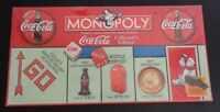 COCA COLA Coke MONOPOLY Collector's Edition 1999 Game NEW + Pewter Tokens SEALED