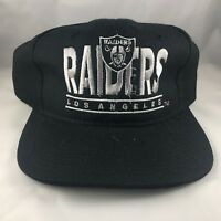 f21a028d267 New Vintage 90s Los Angeles Raiders Youngan Snapback Hat NFL  Defect
