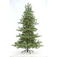 Home Accents Holiday 7.5 ft. Indoor Pre-Lit LED Christmas Tree w/ White Lights
