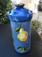Droll Designs Extra-Large Pear Canister