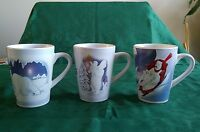 Coca Cola Coke set of 3 stoneware mugs cups polar bear Christmas by Sakura