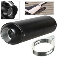 38mm Motorcycle Exhaust Pipe Tip Aluminum Tube Dirt Pit Bike ATV Accessories 1x