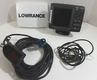 Lowrance Elite 5 HDI w/Suncover + HDI Transducer Fish Finder