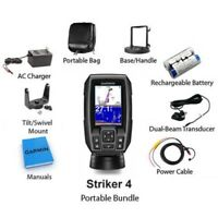 Garmin Striker 4 Portable Fishfinder and GPS 010-01550-10