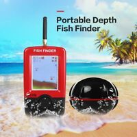 Smart Portable Depth Fish Finder 100M Wireless Sonar Sensor Echo Sounder