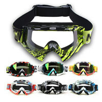 Snowmobile Anti-Fog Goggles for Snowboard ATV Helmet Snow Glasses Adult