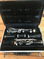Used Buescher Aristocrat Bb Clarinet with Case - 380 Repaired and Ready