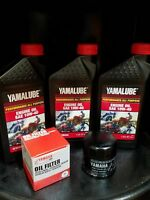 Yamaha Genuine Oil Change Kit YFM700 700 Grizzly 2007-2015 10W-40 And Filter